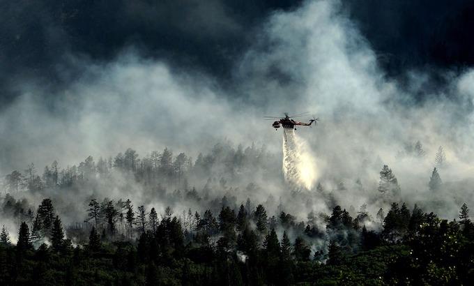 Firefighting Helicopter Near Colorado Springs [Colorado Slot Machine Casino Gambling in 2020]