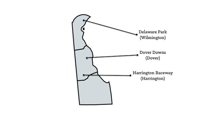 Delaware Casinos Map [Delaware Slot Machine Casino Gambling in 2020]