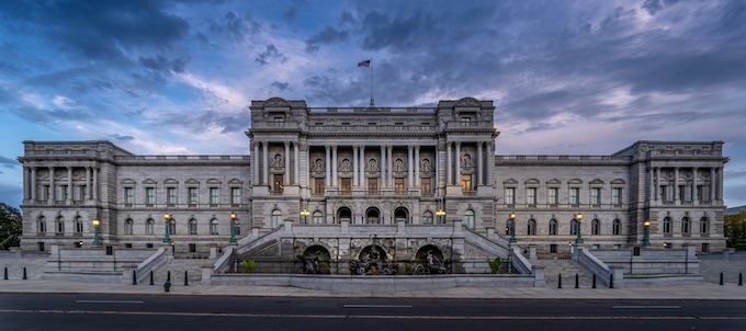 The Library of Congress [District of Columbia Slot Machine Casino Gambling in 2020]