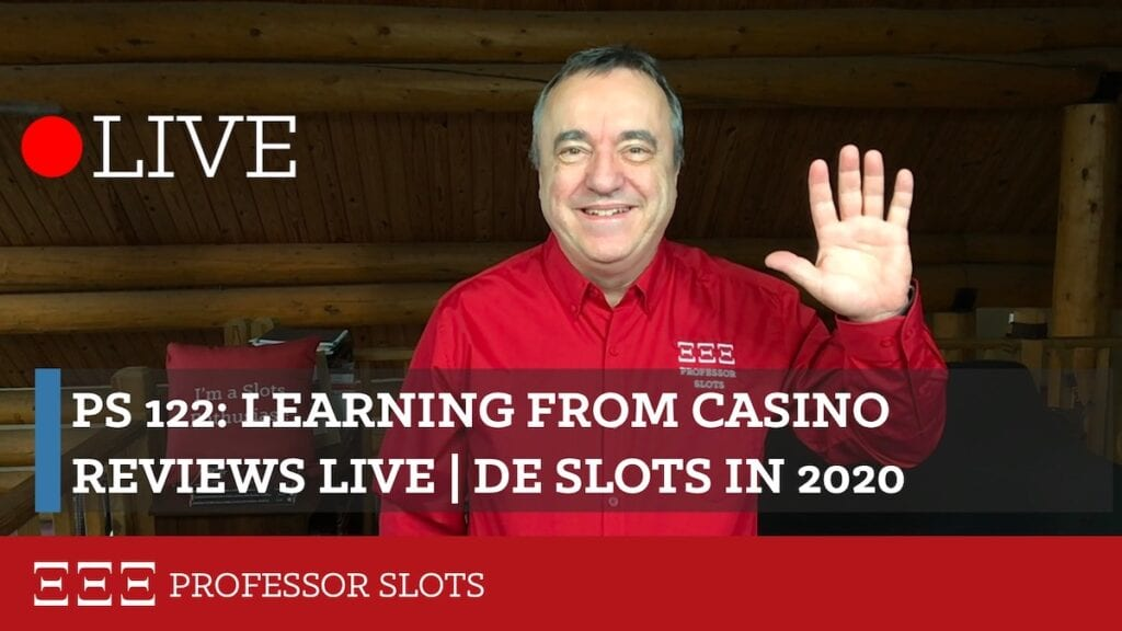 For years, I've been visiting casinos, figuring out how to win at them, then writing reviews. Soon I'll share new casino reviews on YouTube, too. Today we'll cover my perhaps unique way of offering casino reviews. My new casino reviews will be similar ... but with video. Sound good? Good! Plus, Delaware slots in 2020.