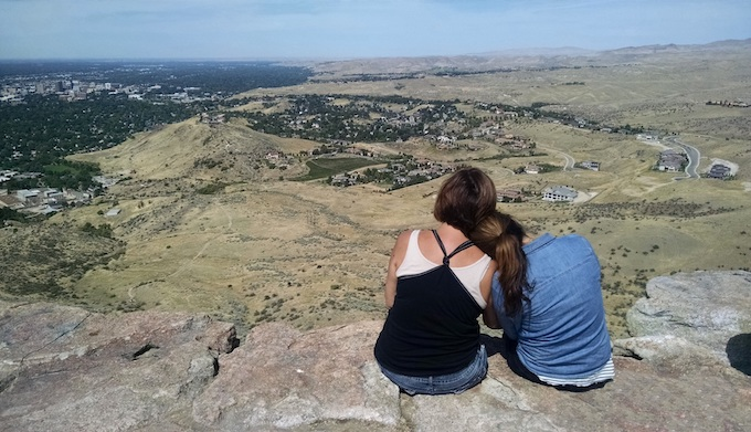 Boise Overlook from Table Rock [Idaho Slot Machine Casino Gambling in 2021]