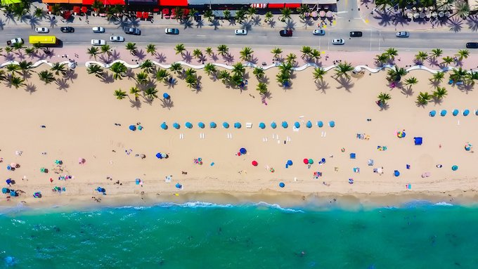Lauderdale Beach in the City of Fort Lauderdale [Florida Slots RTP]