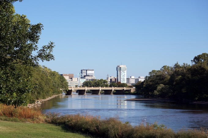 Arkansas River Near Wichita [Kansas Slot Machine Casino Gambling in 2021]