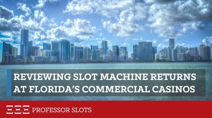 """All U.S. casinos closed in 2020 for months. Since then, one of the biggest concerns of slots enthusiasts is that casinos are trying to """"make back their lost gaming revenue."""" But is that true, state-by-state, for either commercial or tribal casinos? And if so, for which? Let's look closely at Florida slots RTP for its commercial casinos."""