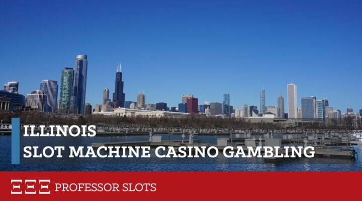 Illinois slot machine casino gambling consists of ten commercial casinos, two proposed casinos, and VLT electronic gaming machines at 7,710 local businesses such as bars, restaurants, and other licensed non-casino locations. Illinois' theoretical payout limits are 80% and 100% over the lifetime of a slot machine.