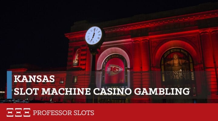 Kansas slot machine casino gambling consists of four commercial casinos, run by the Kansas Racing and Gaming Commission, as well as six tribal casinos. The minimum theoretical payout limit for commercial casinos is 87% and, by gaming compact, 80% at tribal casinos. No return statistics from either are publicly available.