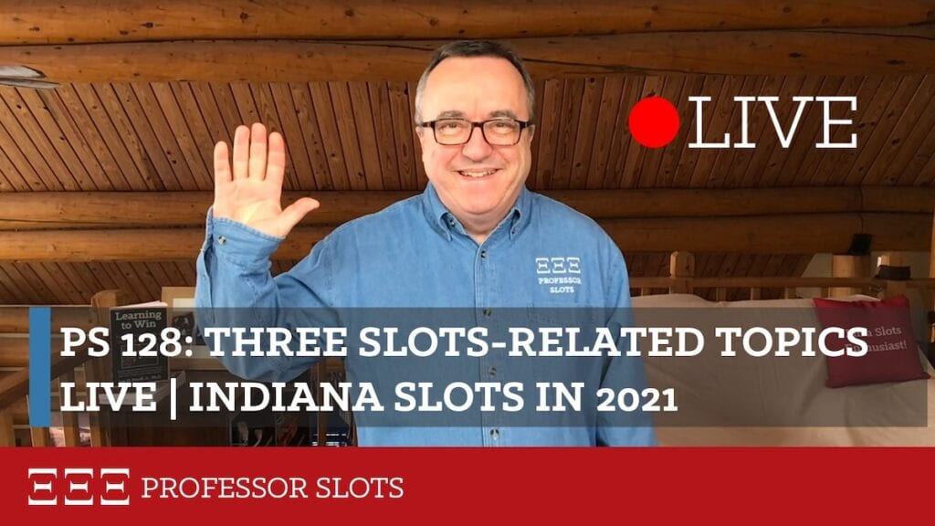 I go over three slots-related topics which have some important updates including further analysis on Florida RTP for promotional dollars, taking the mystery out of consults, and the latest changes to IRS rules for keeping good gambling logs for income tax preparation. Plus, Indiana slots in 2021.