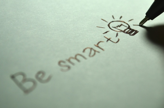 Be Smart [Thinking Person]