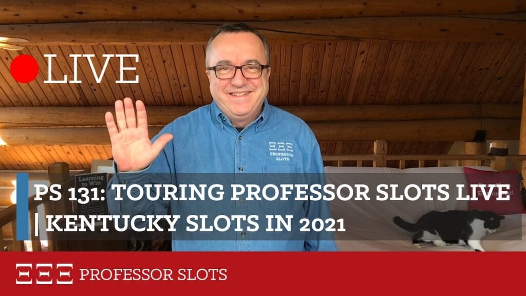 With so many new audience members, why don't I show you around Professor Slots a bit? First there's my YouTube Channel live stream alongside lots of much shorter slots videos on various topics. Then there's my podcast, currently up to 131 episodes. And my website, where about 1,000 people visit each day. And lots more!