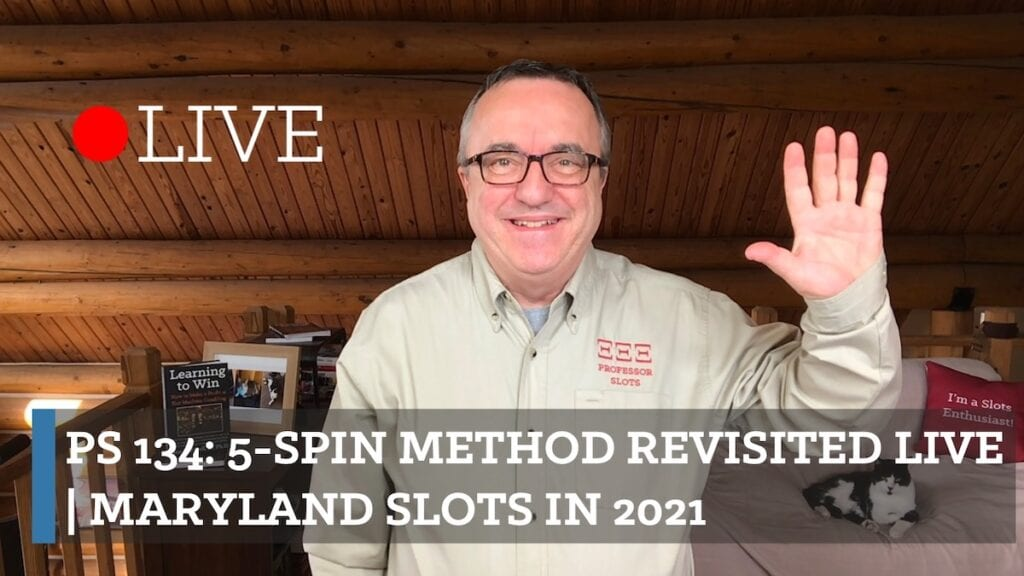 The 5-spin method is my first strategy on taking advantage of standard casino business practices by using them against casino operators for your profit. I explain how to collect first wins when you first sit down at a slot machine in about 1-in-4 casinos. Given it's popularity, I'm revisiting it. Plus, Maryland slots in 2021.
