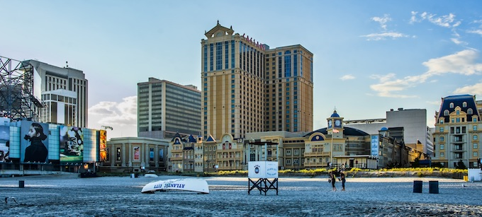 The Atlantic City Beach and Boardwalk [New Jersey Slots Return-To-Player 2021]