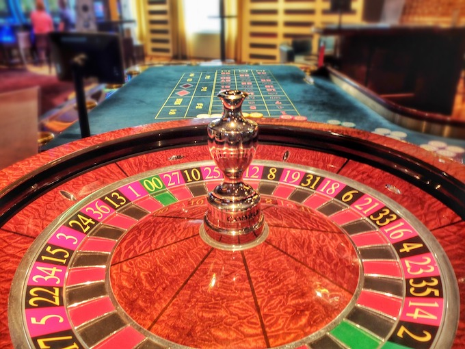 A Roulette Wheel and Its Betting Table [Roulette Wheels]