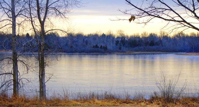 A Michigan Lake in Winter [Michigan Slot Machine Casino Gambling in 2021]
