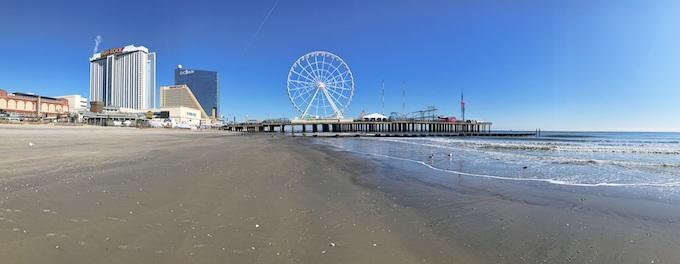 The Atlantic City Beach [New Jersey Slots Return-To-Player 2021]