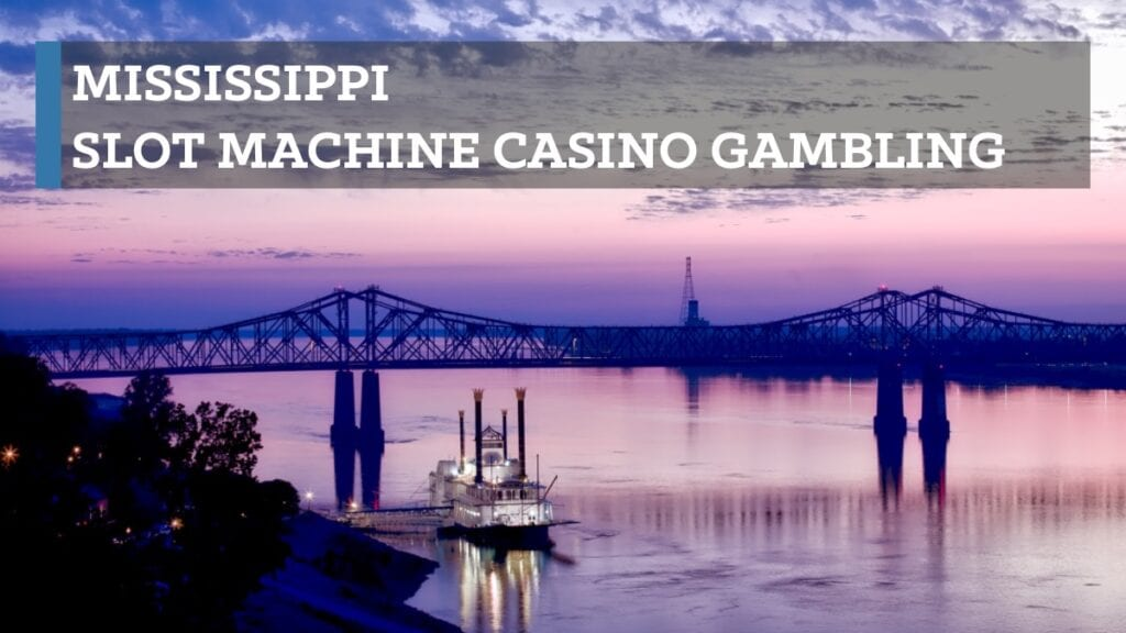 Mississippi slot machine casino gambling consists of 27 commercial casinos, three tribal casinos, and cruise ships with onboard casinos sailing out of the ports of Biloxi and Gulfport on the Gulf Coast to international destinations. Theoretical payout limits are 80% and 100%. Thorough return statistics are publicly available.