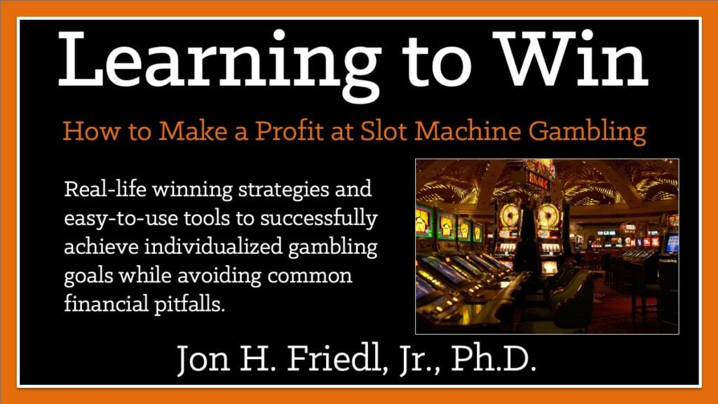 In Learning to Win, Friedl uses more than a decade of research, observations, experiences, and analysis with new and older-style slot machines. Study of new casino operational technologies led in gambling strategies and assessment techniques matched to the most common gambling goals in an easy-to-understand manner.