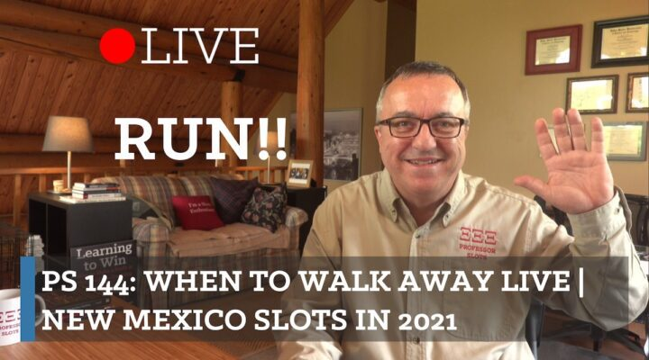 When to Walk Away is about making observations based on the actual control over odds that casinos may have over your slot machine and your emotional control or, for some, lack of emotional control. These out-of-control feelings can be subtle. Don't not have control. Instead, have a plan! Plus, New Mexico slots in 2021.
