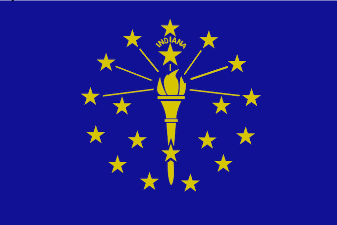 Indiana State Flag [Hollywood Lawrenceburg]