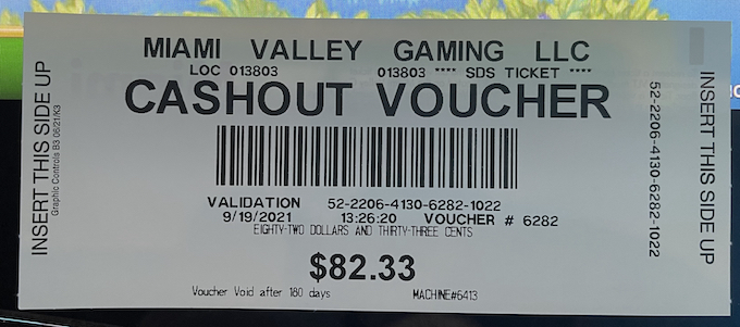 82% Return on My 5-Spin Method [Miami Valley Gaming]