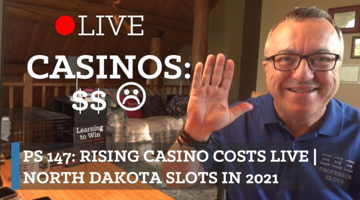 Raising minimum bets on slot machines, resort and parking fees, loss of buffet-style food options, and more. Why has it become so much more expensive to visit a casino and when will it end, if ever? You're always invited to my live streams on Saturdays. Bring your slots-related questions! Plus, North Dakota slots in 2021.