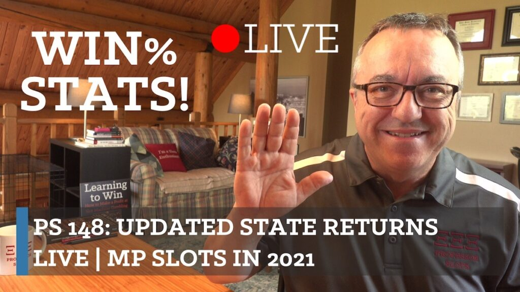 Do you feel like casinos lately are tight, then loose, then tight again? Doing going to casinos lately feel like you're riding a roller-coaster? Well, let's check the latest win% for a bunch a states and see for ourselves what's going on! Plus, answers to your questions. Plus, Northern Mariana Islands slots in 2021.
