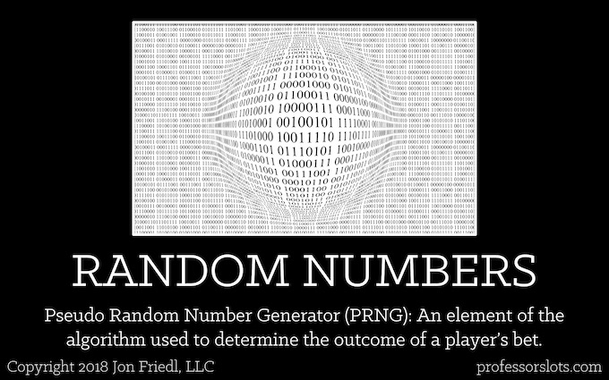 Random Numbers [Controls Slot Machine Odds]