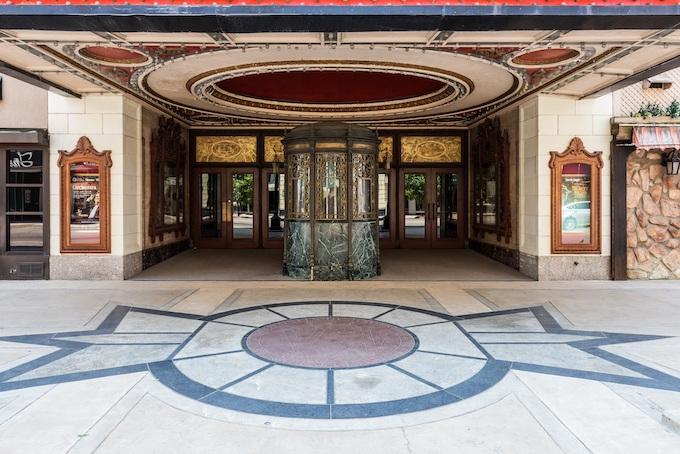 Keith Albee Theatre Entrance [West Virginia Slot Machine Casino Gambling]